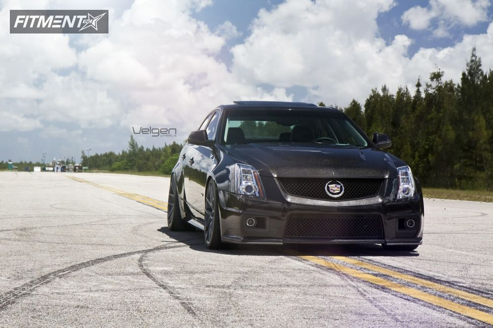 2012 Cadillac Cts Velgen Wheels Vmb5 Lowered Adj Coil Overs