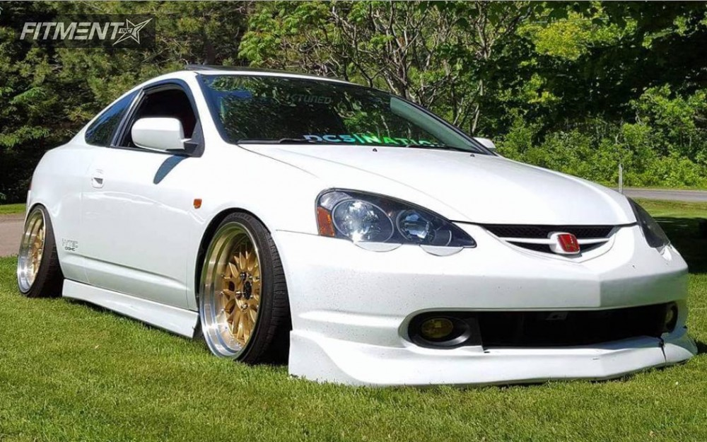 1 2003 Rsx Acura Coilovers Jnc Other Gold Flush