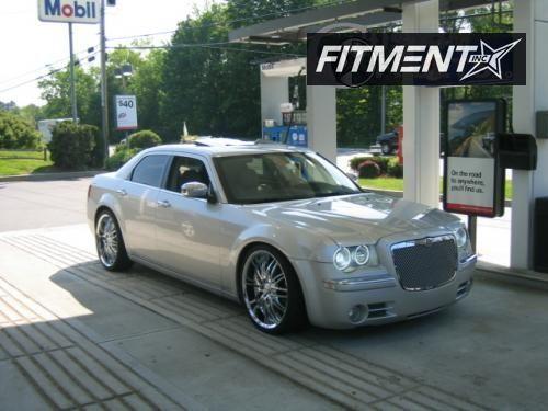2006 300 Chrysler C 4dr Sedan Awd 57l 8cyl 5a Verde Kaos Kaos Chrome Flush 4910 1