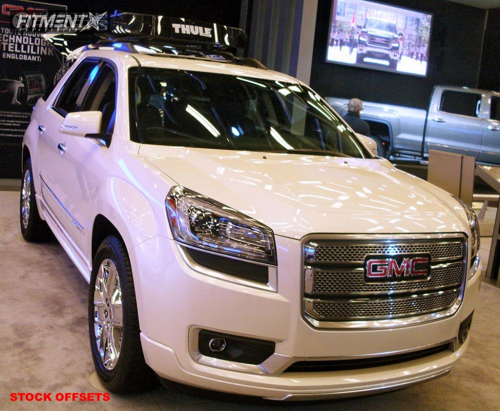 1 2012 Acadia Gmc Stock Stock Spaced Out Stockers Silver Tucked