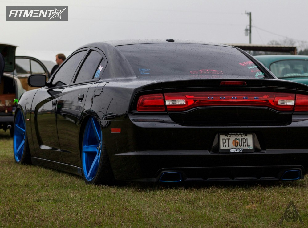 3 2013 Charger Dodge Bagged Str Racing Other Custom Tucked