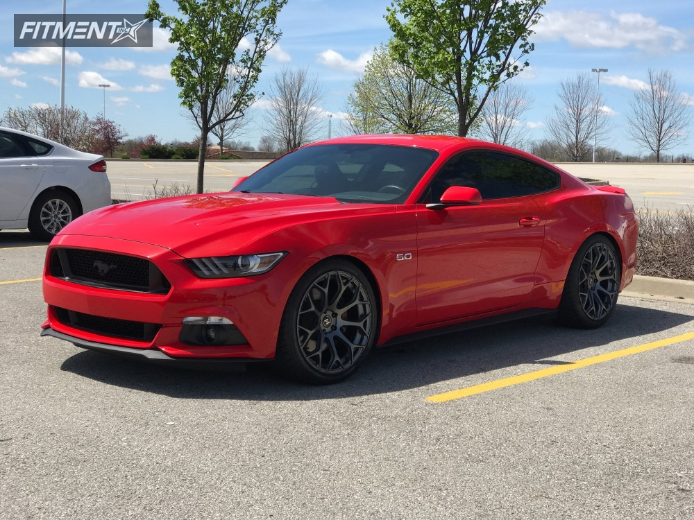 1 2015 Mustang Ford Lowering Springs Other Other Gunmetal Nearly Flush