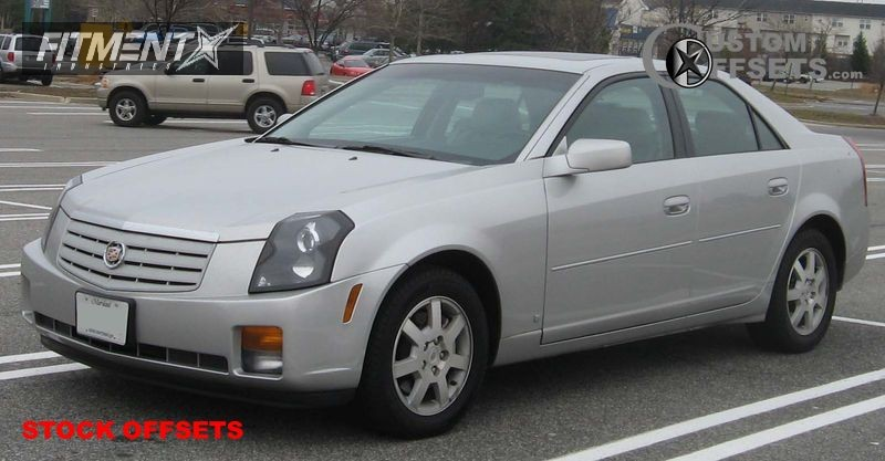2003 Cts Cadillac 4dr Sedan 32l 6cyl 5m Stock Stock Silver Tucked 1445 1