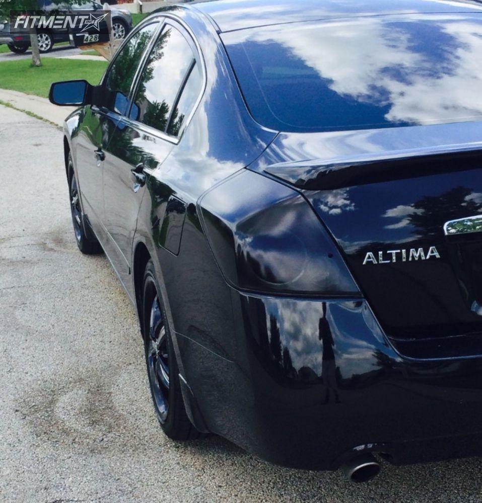 15 2008 Altima Nissan Stock Helo He844 Black Flush