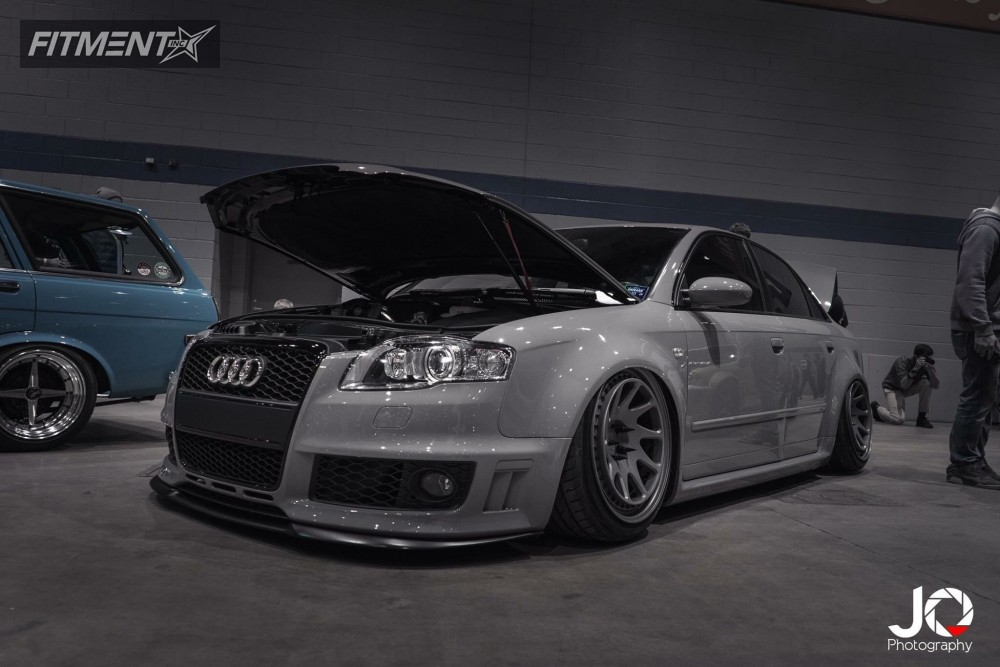 2008 audi rs4 rotiform ozt air lift performance bagged. Black Bedroom Furniture Sets. Home Design Ideas