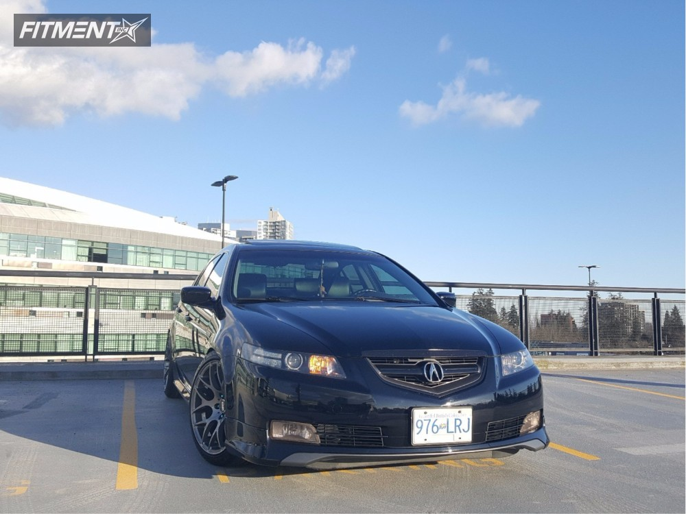 1 2005 Tl Acura Coilovers Vmr V710 Gunmetal Flush