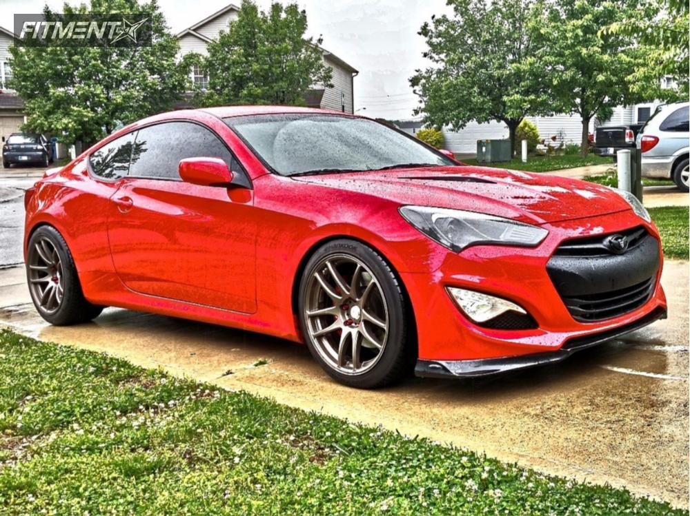 1 2013 Genesis Coupe Hyundai Lowering Springs Esr Sr08 Bronze Poke
