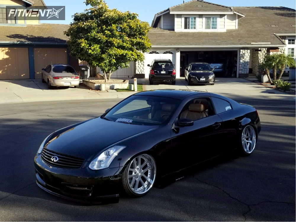 1 2003 G35 Infiniti Bagged Weds Other Polished Tucked