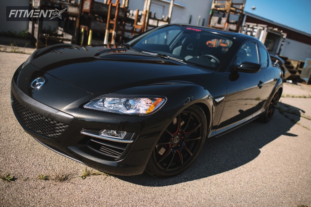 1 2010 Rx 8 Mazda Tein Coilovers Axis Xcite Black