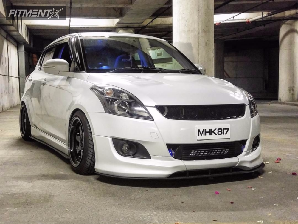 2013 Suzuki Swift Rota Grid Bc Racing Coilovers | Fitment Industries