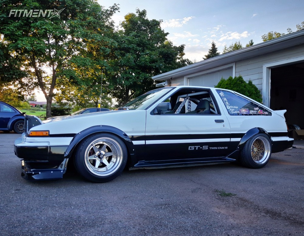 1987 Toyota Corolla Ssr Longchamp Dragdrift Coilovers Fitment Industries