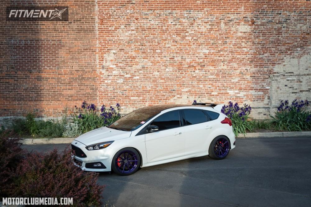 Custom Focus St >> 4717 Custom Offsets Wheel Shine Kit For Painted Wheels Fitment