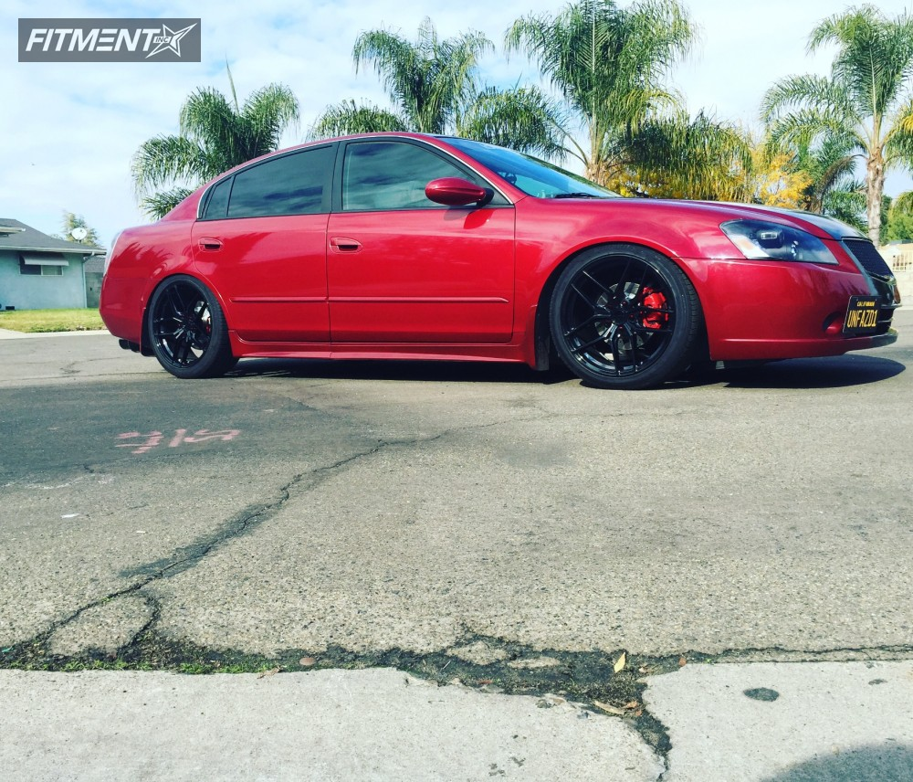 2006 nissan altima stance wheels sf03 d2 racing coilovers. Black Bedroom Furniture Sets. Home Design Ideas