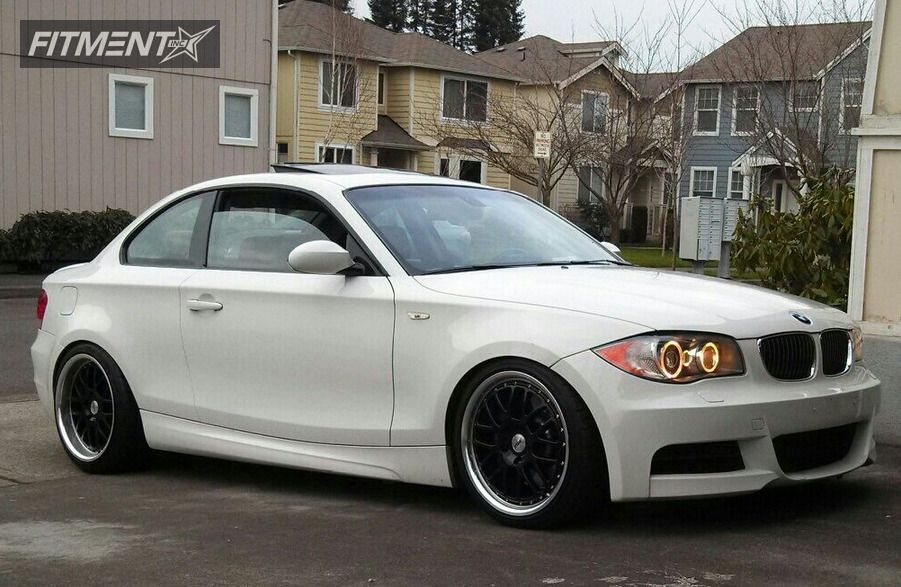 2008 Bmw 128i 135i 2dr Coupe 3 0l 6cyl Turbo 6m With 18x8 Tsw Grids And Nitto 215x40 On Lowered Adj Coil Overs 269 Fitment Industries