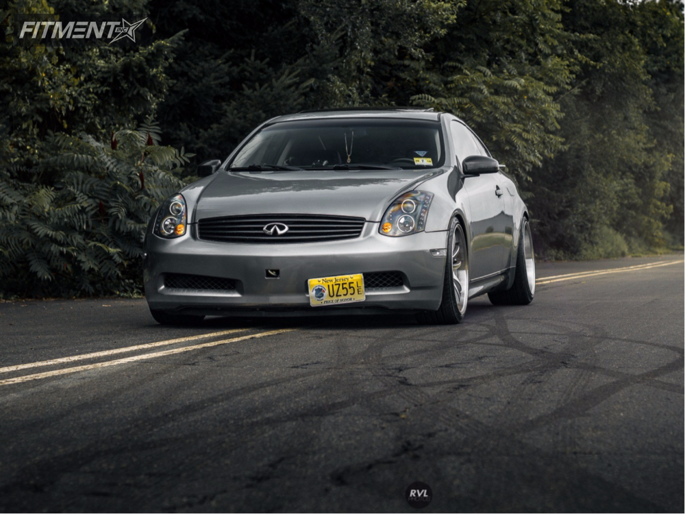 1 2004 G35 Infiniti Tein Coilovers Aodhan Ds 02 Silver