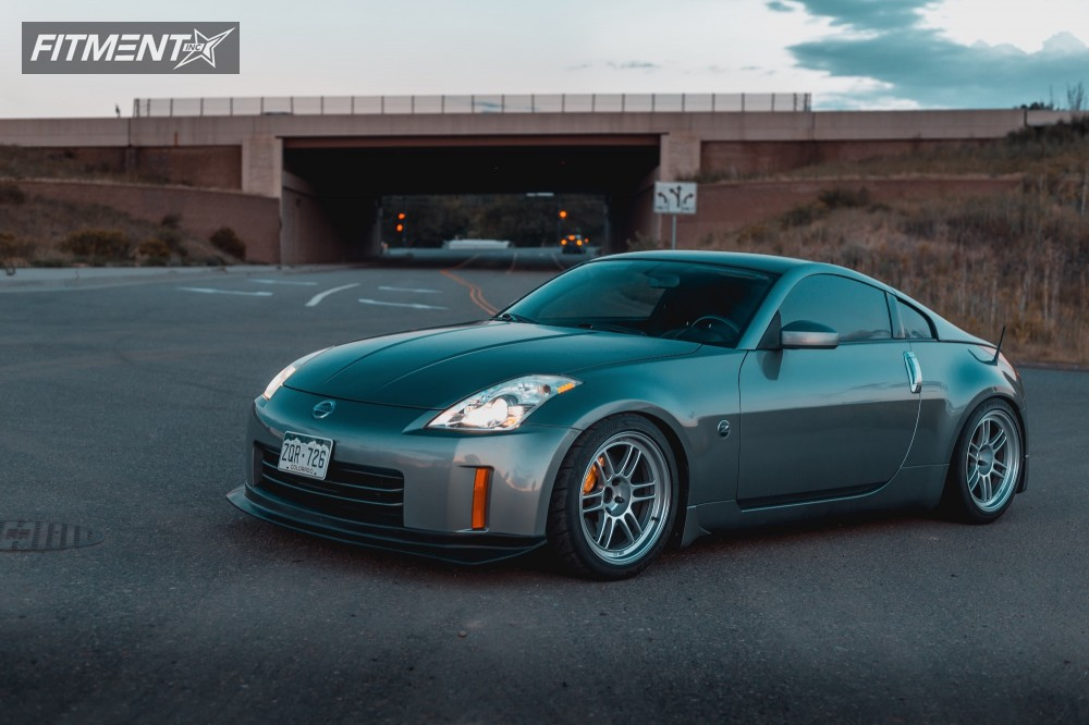 2006 Nissan 350z Enkei Rpf1 Bc Racing Coilovers | Fitment