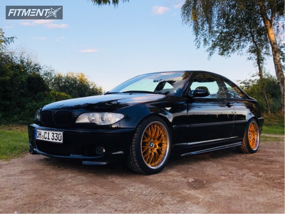 2005 Bmw 330ci Bbs Lm Koni Strt Orange Bagged