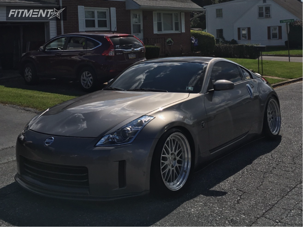 1 2008 350z Nissan Tein Coilovers Varrstoen Es1 Polished