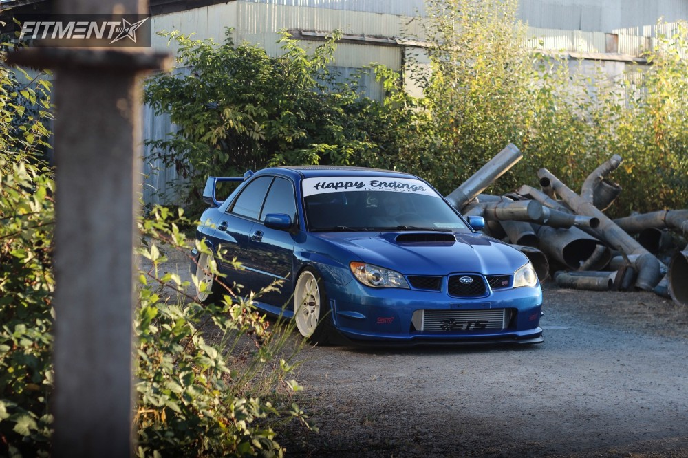 2006 Subaru Wrx Sti Work D9r Air Lift Performance Air