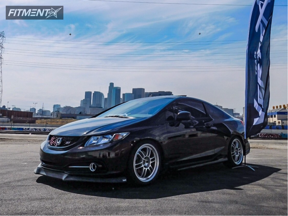 2013 honda civic enkei rpf1 skunk2 lowering springs. Black Bedroom Furniture Sets. Home Design Ideas