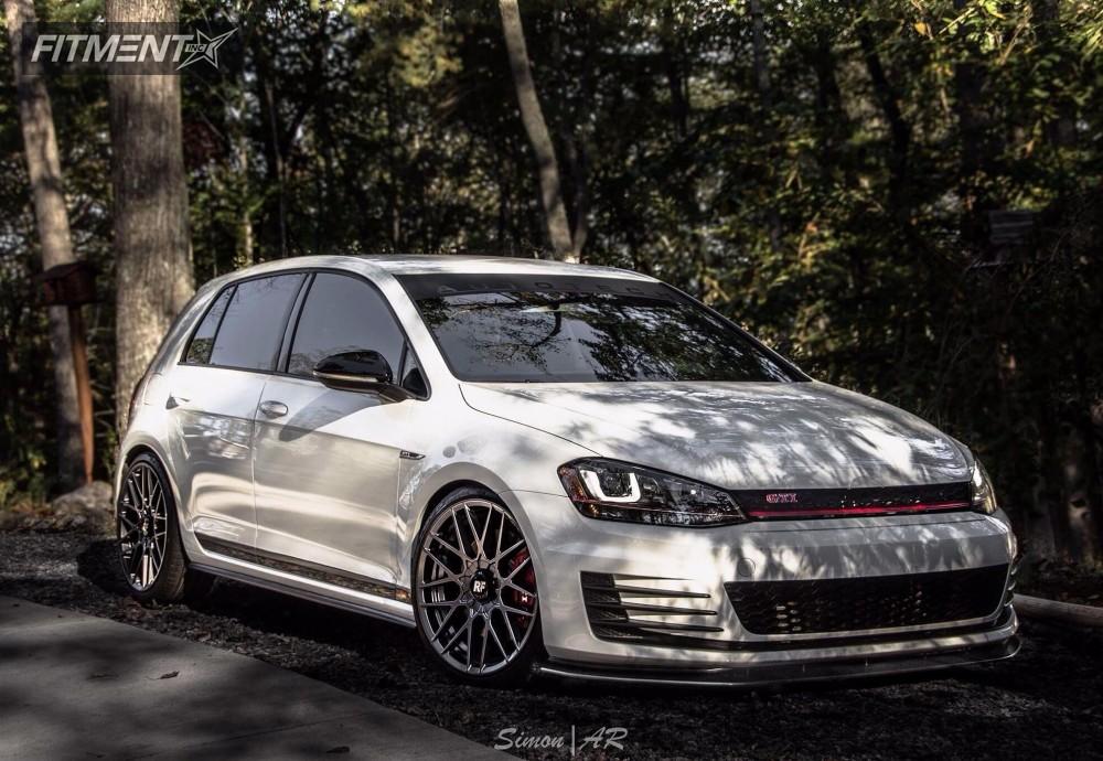 1 2017 Gti Volkswagen Neuspeed Race Springs Lowering Springs Rotiform Rse Anthracite