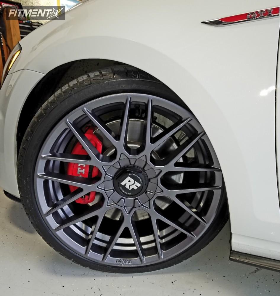 12 2017 Gti Volkswagen Neuspeed Race Springs Lowering Springs Rotiform Rse Anthracite