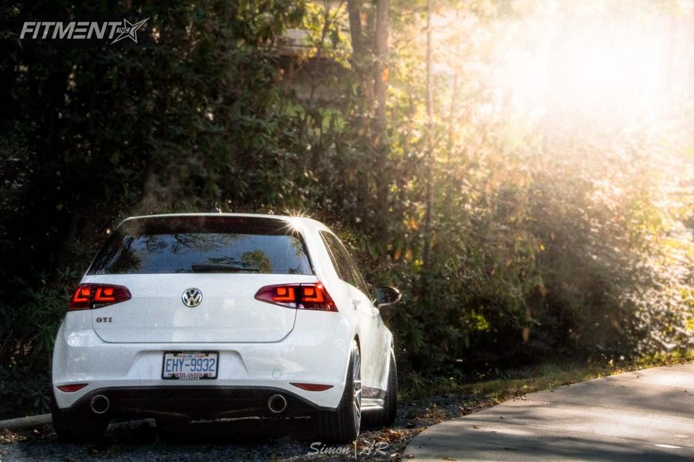 2 2017 Gti Volkswagen Neuspeed Race Springs Lowering Springs Rotiform Rse Anthracite