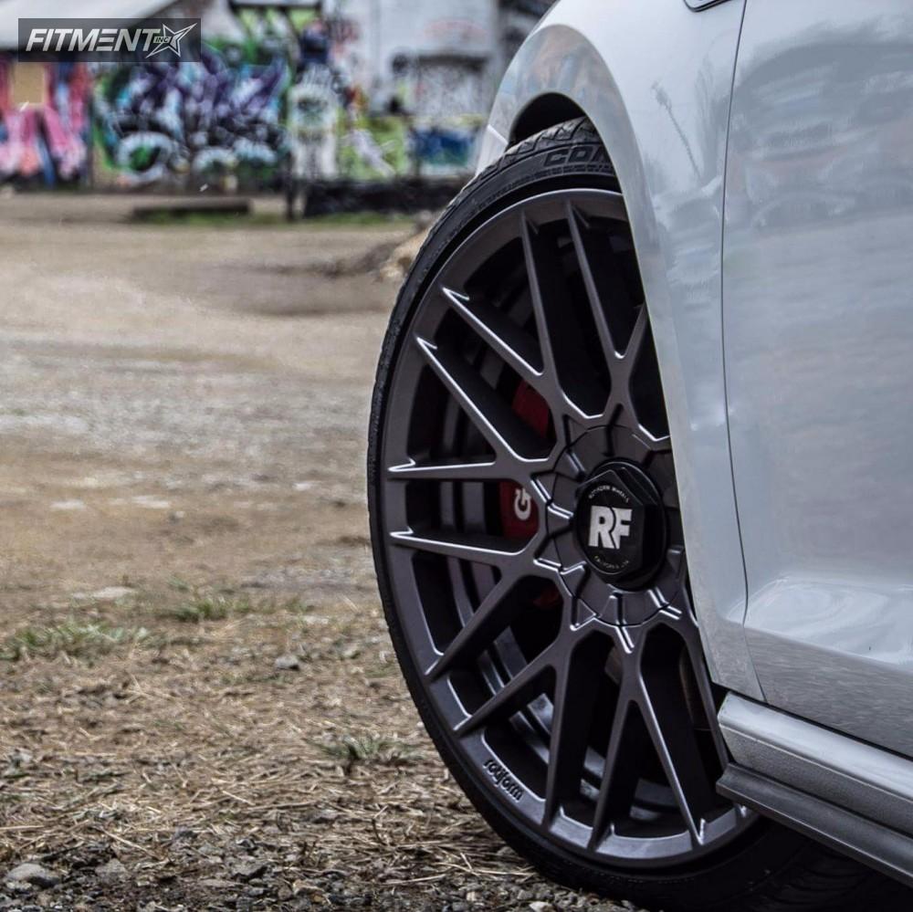 8 2017 Gti Volkswagen Neuspeed Race Springs Lowering Springs Rotiform Rse Anthracite