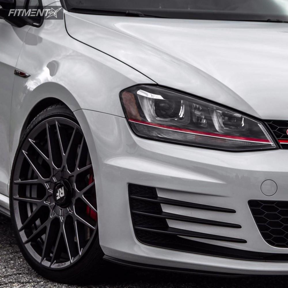 9 2017 Gti Volkswagen Neuspeed Race Springs Lowering Springs Rotiform Rse Anthracite