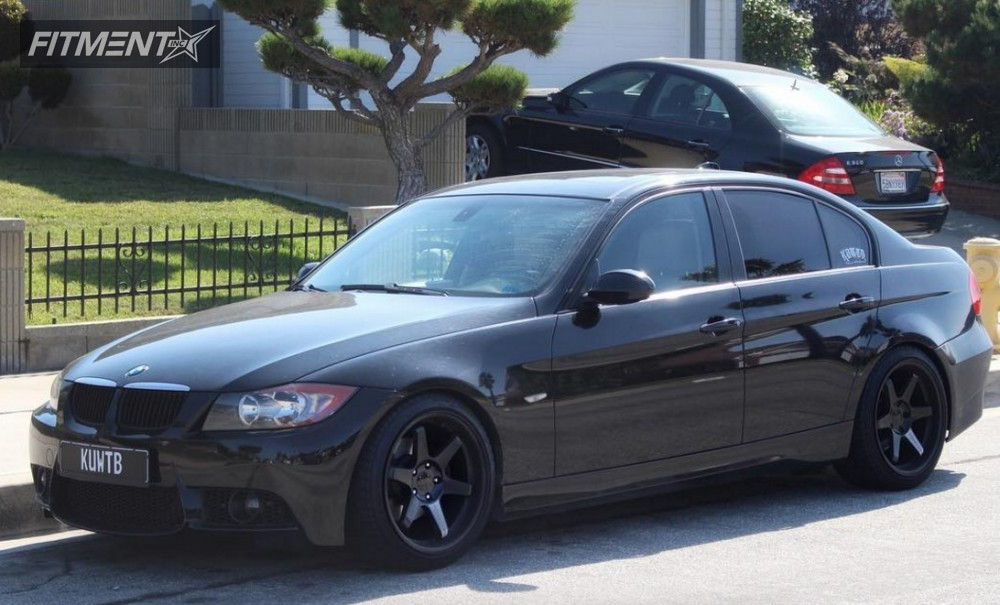 2007 bmw 328i varrstoen es2 fk streetline coilovers fitment industries