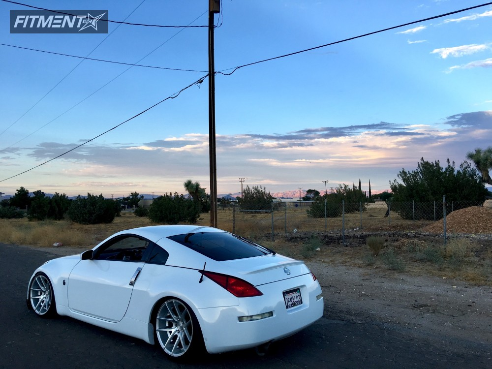 2004 Nissan 350z Niche Targa Bc Racing Coilovers | Fitment