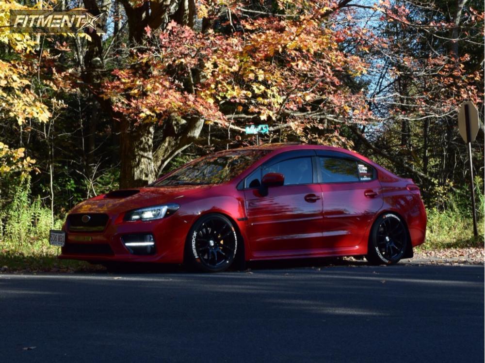 1 2015 Wrx Subaru Tein Coilovers Esr Sr08 Black