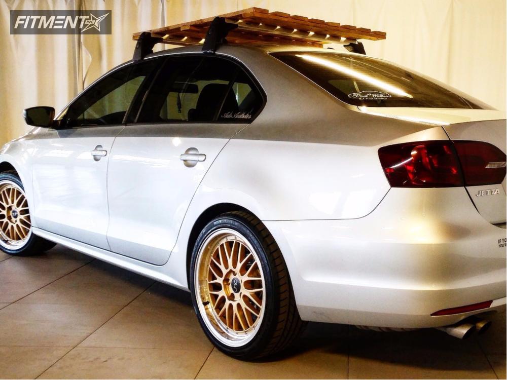 1 2014 Jetta Volkswagen Stock Stock Jnc 005 Gold