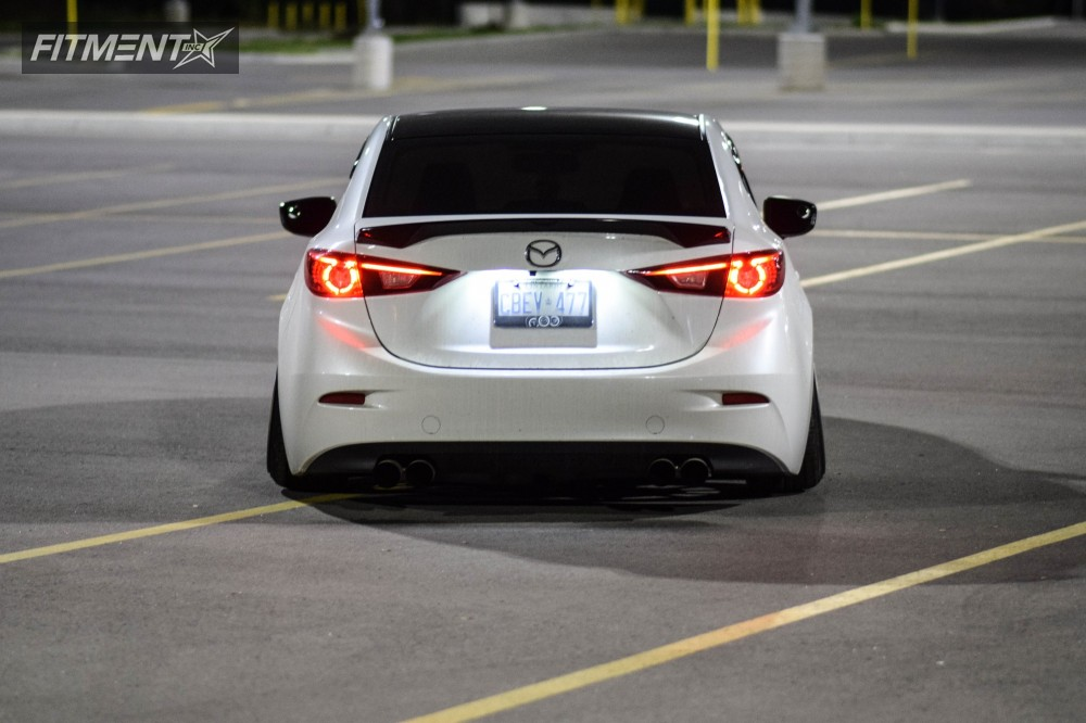2015 Mazda 3 Vossen Vfs1 Air Lift Performance Air Suspension Fitment