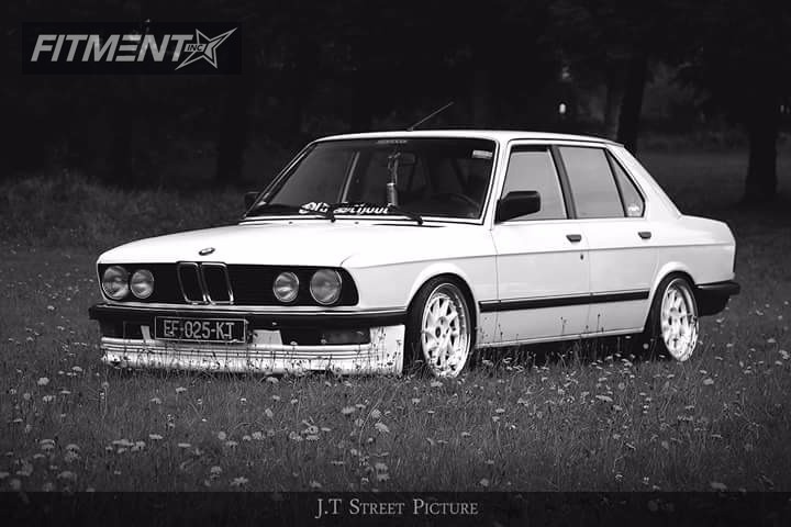1984 Bmw 525i Japan Racing Jr26 Ta Technix Lowering Springs