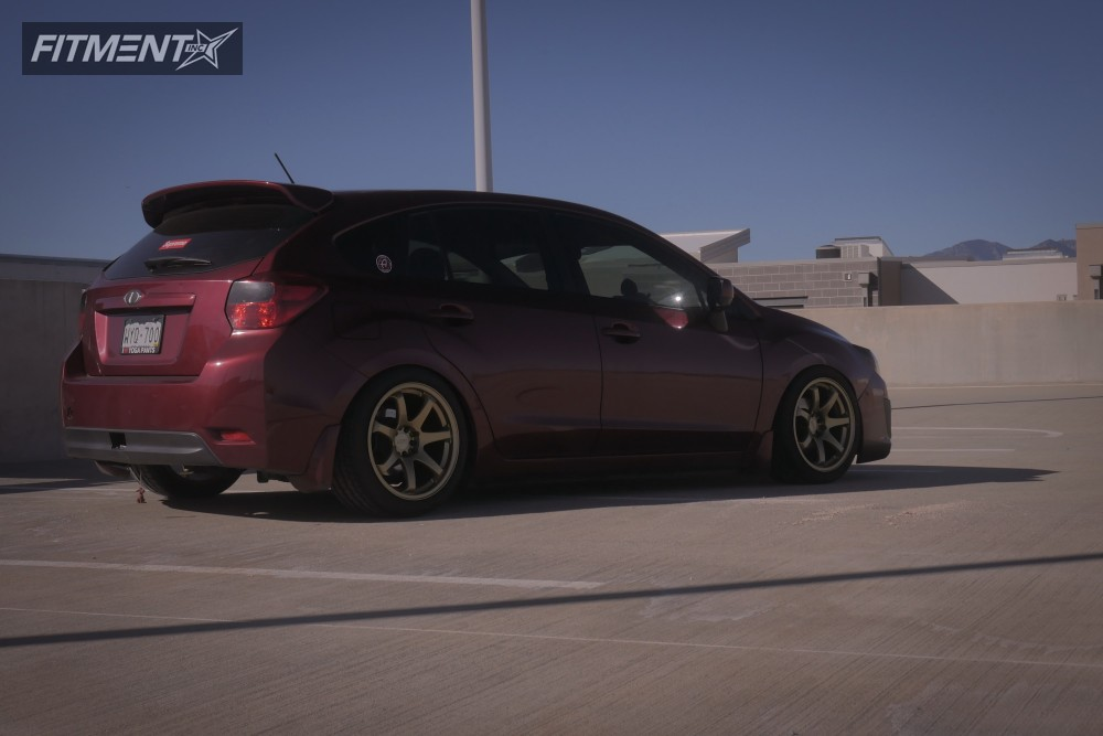 1 2012 Impreza Subaru Raceland Coilovers Xxr 551 Gold