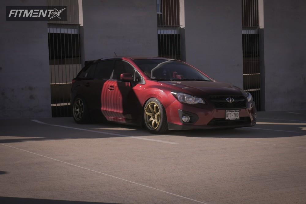 3 2012 Impreza Subaru Raceland Coilovers Xxr 551 Gold