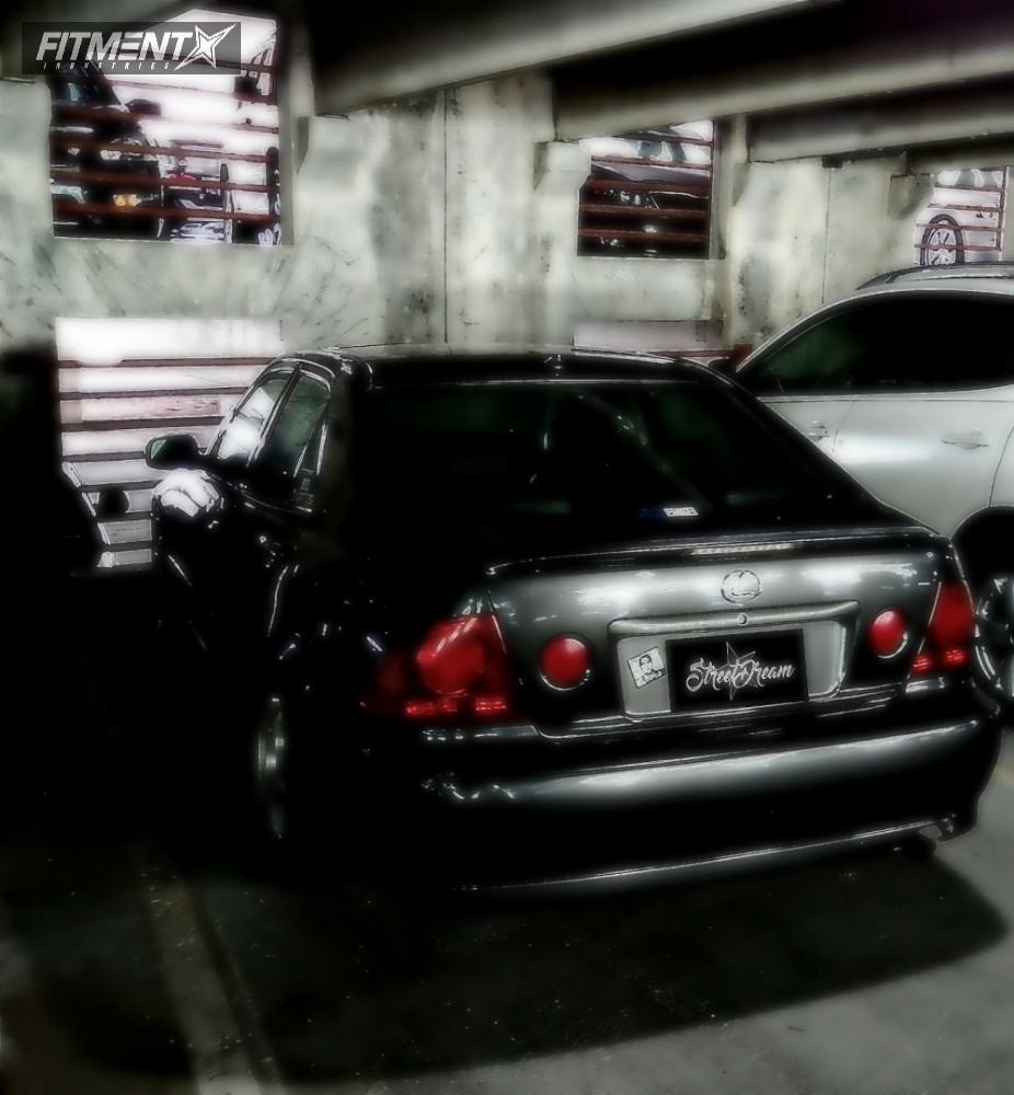 2002 Lexus Is300 Enkei Rp01 Megan Racing Lowering Springs