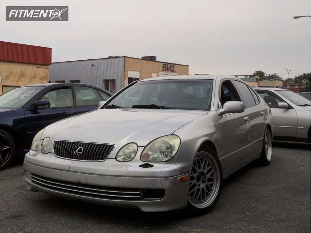 2001 Lexus Gs300 Bbs Lm Advox By Toms Coilovers | Fitment