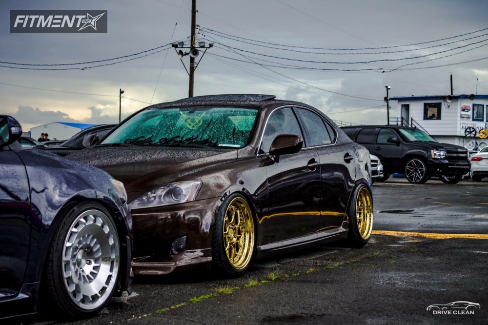 ... 1 2008 Is250 Lexus Godspeed Project Coilovers Aodhan Ds01 Gold ...