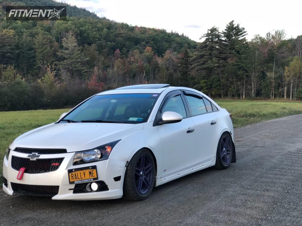 2014 Chevrolet Cruze Enkei Rs K Sport Coilovers Fitment