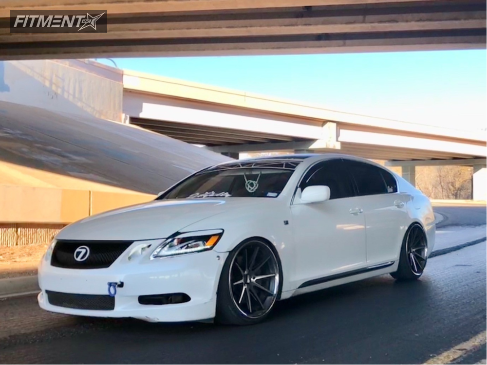 2010 Lexus Gs350 Rohana Rc10 Bc Racing Coilovers