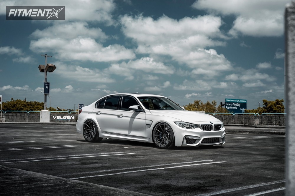 2016 Bmw M3 Velgen Vfdb10 Bc Racing Coilovers Fitment Industries