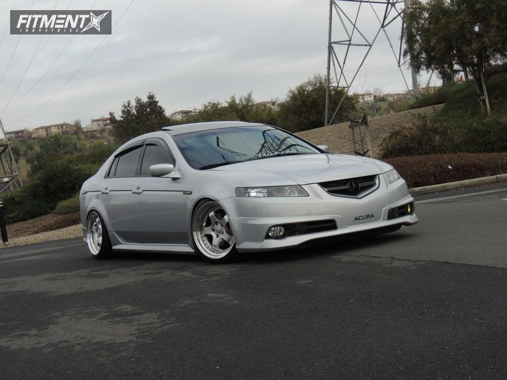 1 2005 Tl Acura Tein Coilovers Esr Sr06 Silver