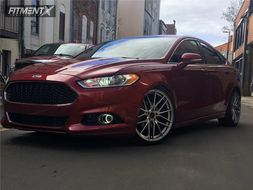 2013 Ford Fusion Rims >> 2013 Ford Fusion Advanti Racing Catalan Flatout Suspension Coilovers | Fitment Industries
