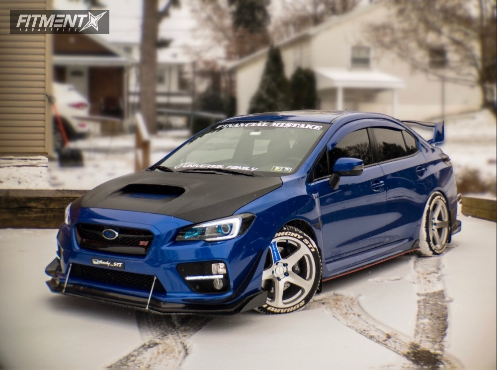 how to change springs on 2015 sti