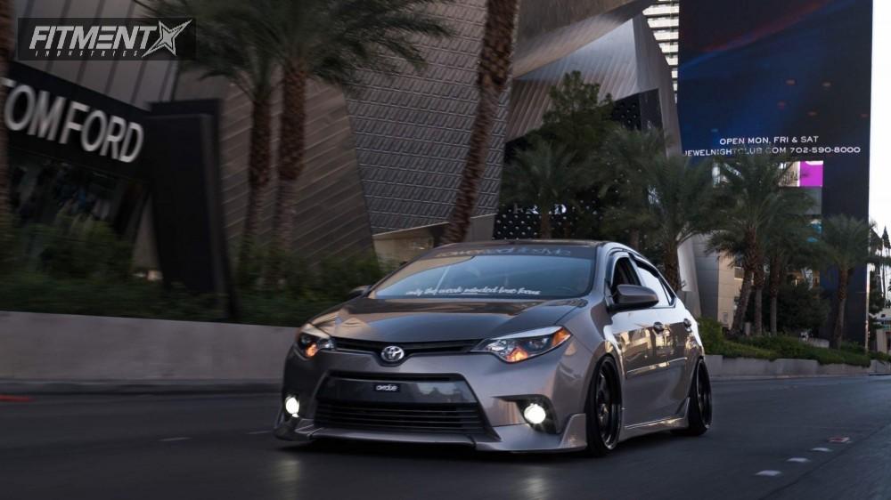 14 Inch Rims For Toyota Corolla >> 2015 Toyota Corolla Esr Sr06 Bc Racing Coilovers