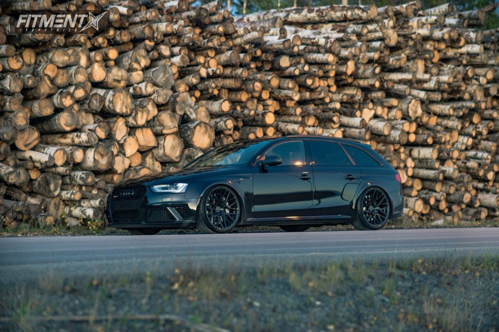 14 2014 Rs4 Audi Kw Coilovers Rohana Rfx10 Black