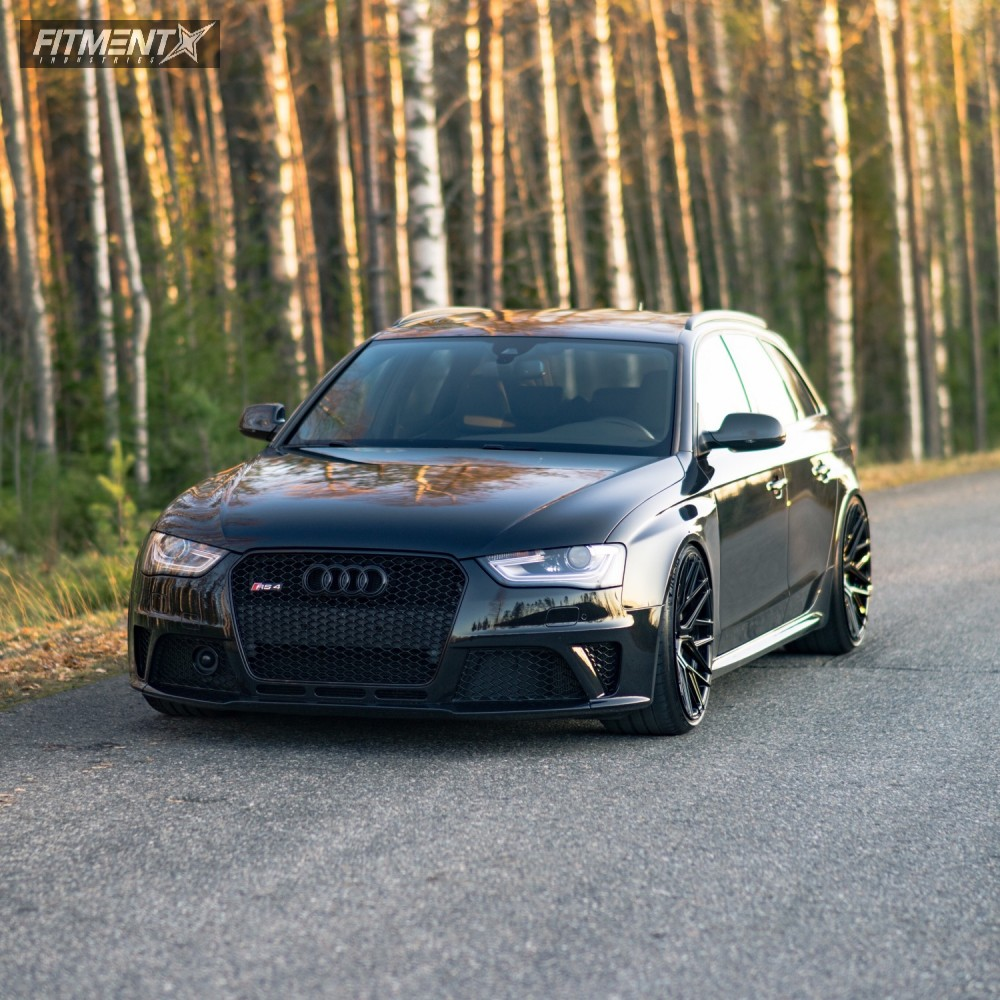 3 2014 Rs4 Audi Kw Coilovers Rohana Rfx10 Black