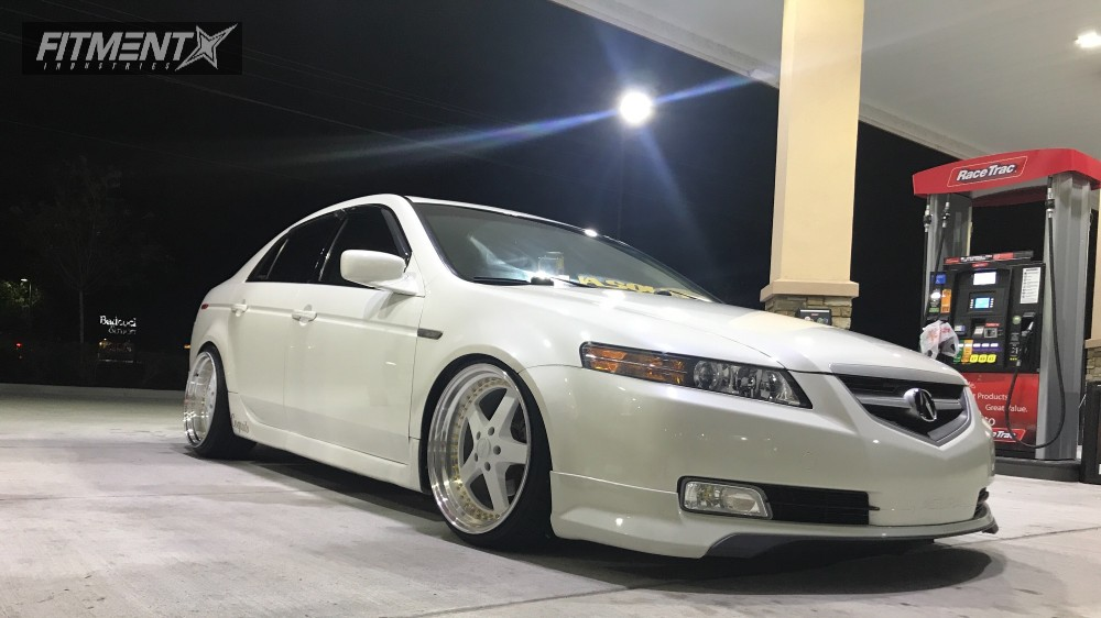 Tl Acura Function And Form Coilovers Esr Sr White